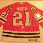 Autographed Stan Mikita jersey