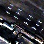 North Korean Missiles near Airbase (Google Maps)