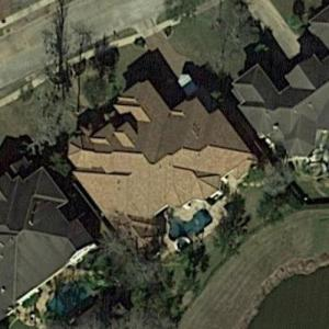 Brian Cushing's House (Google Maps)