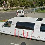 Wedding limo (StreetView)