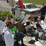 Protesting unfair labor practices (StreetView)