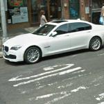 BMW 7 Series facelift (StreetView)