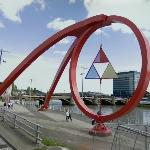 'The Steel Wave' by Peter Fink (StreetView)