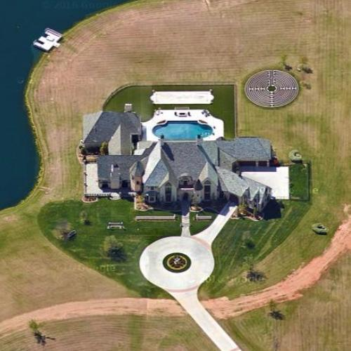 Bob Stoops' House in Norman, OK (Google Maps)