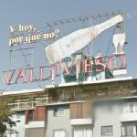 Valdivieso advertising sign