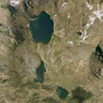 Tristaina lakes (Google Maps)
