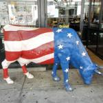 CowParade: 'Americow the Beautiful' by Pauli Suominen (StreetView)