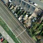Atherstone rail accident (Google Maps)
