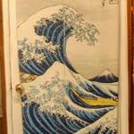 'The Great Wave off Kanagawa' by Hokusai (StreetView)