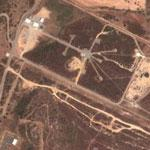 Missile test range in Sardinia