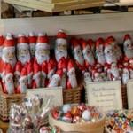 Chocolate Santas (StreetView)