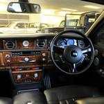 Inside a Rolls-Royce Phantom