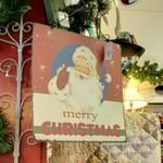 Merry Christmas sign (StreetView)