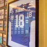 Peyton Manning's signed jersey (StreetView)