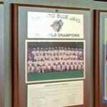 1992 World Series Champions plaque: Toronto Blue Jays
