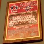 2002 World Series Champions plaque: Anaheim Angels (StreetView)