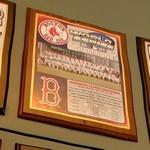 2004 World Series Champions plaque: Boston Red Sox (StreetView)
