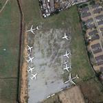 Aircraft boneyard at Murtala Muhammed International Airport