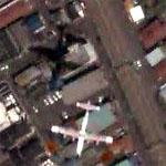Airplane - Flying Boat over Japan (Google Maps)