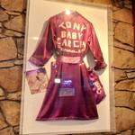 "Tony ""Baby"" Garcia boxing robe"