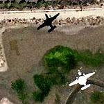 Airplane - E-2 Hawkeye over Point Mugu (Google Maps)