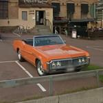 Classic American car (StreetView)
