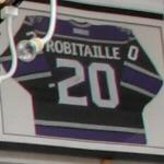 Luc Robitaille's LA Kings jersey