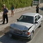 Mercedes-Benz Crash (StreetView)