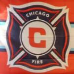 Chicago Fire flag