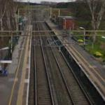 Chelford rail accident (StreetView)