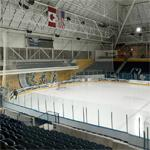 New rink at the Maple Leaf Gardens