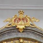 Monograms of King Frederik V and Queen Juliana Maria of Denmark (StreetView)