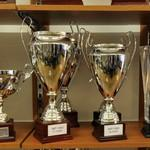 UEFA Champion League Cup trophy replicas