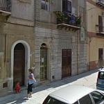 Collapsed building in Palermo (StreetView)