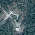 Bunker and odd shaped perimeter (Google Maps)