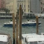 Police boat in Venice