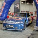 Brian Vickers' Red Bull stock car (StreetView)