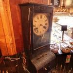 Vintage long case time clock