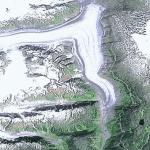Salmon Glacier (Google Maps)
