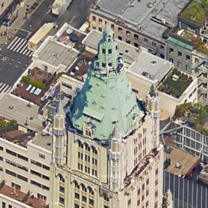 The Woolworth Building (Google Maps)