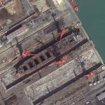 Drydock in China (Google Maps)