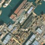 Drydock at Daewoo Shipbuilding & Marine Engineering