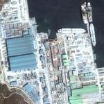 Drydocks @ Samsung Heavy Industries (Google Maps)