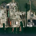 Drydocks at Lisnave shipyards (Google Maps)