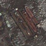 Floating dry dock (Google Maps)