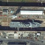 No. 9 Dock & HMS Clyde (P257) (Google Maps)