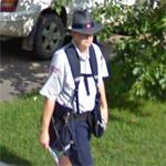 Canada Post mail carrier