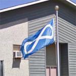 Métis flag (StreetView)