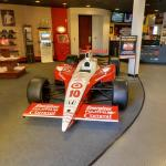 Ryan Briscoe's Race Car