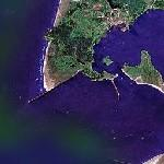 Columbia River Mouth (Google Maps)